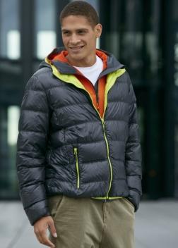 JN1060 Куртка пуховая с капюшоном