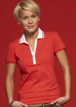 Рубашка-поло женская JN158