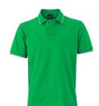 Зеленый папоротник/Белый