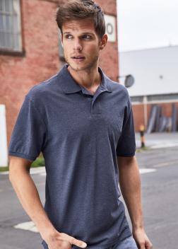 Рубашка-поло мужская 8010