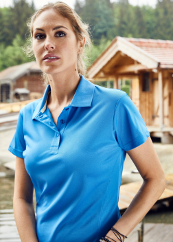 Рубашка-поло женская JN411