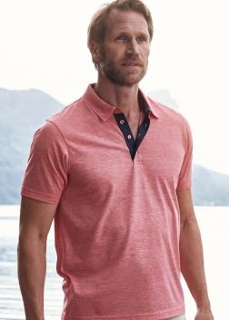 Рубашка-поло мужская JN754