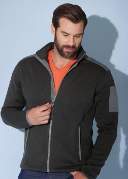 JN591 Куртка флисовая мужская