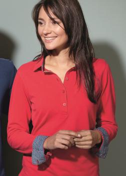 Рубашка-поло женская JN713
