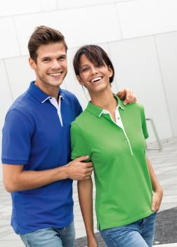 Рубашка-поло женская JN725