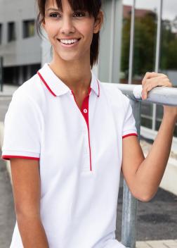 Рубашка-поло женская JN727