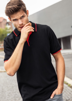 Рубашка-поло мужская JN728