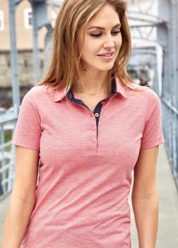 Рубашка-поло женская JN753