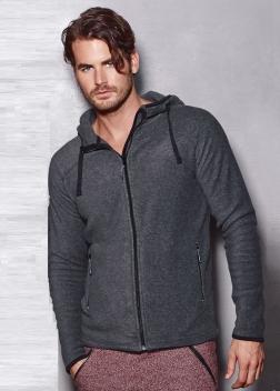 ST5040  Куртка с капюшоном муж.
