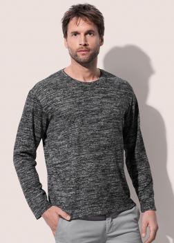 ST9080 Пуловер мужской с длинным рукавом