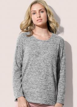 ST9180 Пуловер женский с длинным рукавом