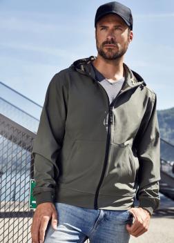 JN1146 Куртка мужская спортивная Softshell