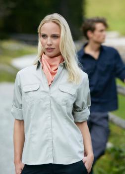 JN605 Рубашка женская roll-up