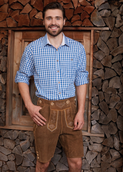 JN638 Рубашка мужская традиционная