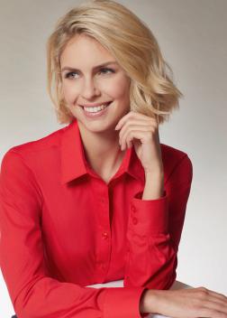 JN677 Рубашка женская классическая