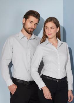 JN686 Рубашка мужская классическая Oxford