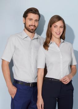 JN688 Рубашка мужская классическая Oxford