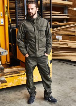 JN886 Куртка профессиональная на подкладке