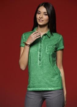 Рубашка-поло женская JN987