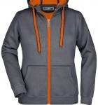 Темно-серый carbon/Оранжевый