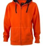 Темно-оранжевый/темно-синий