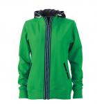Зеленый папоротник/Темно-синий