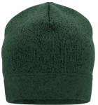Темно-зеленый меланж/Черный